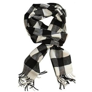 🖤🌹Cashmere Feel Scarf- Black& White